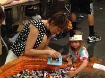 A pool full of Lego-compatible KREO blocks