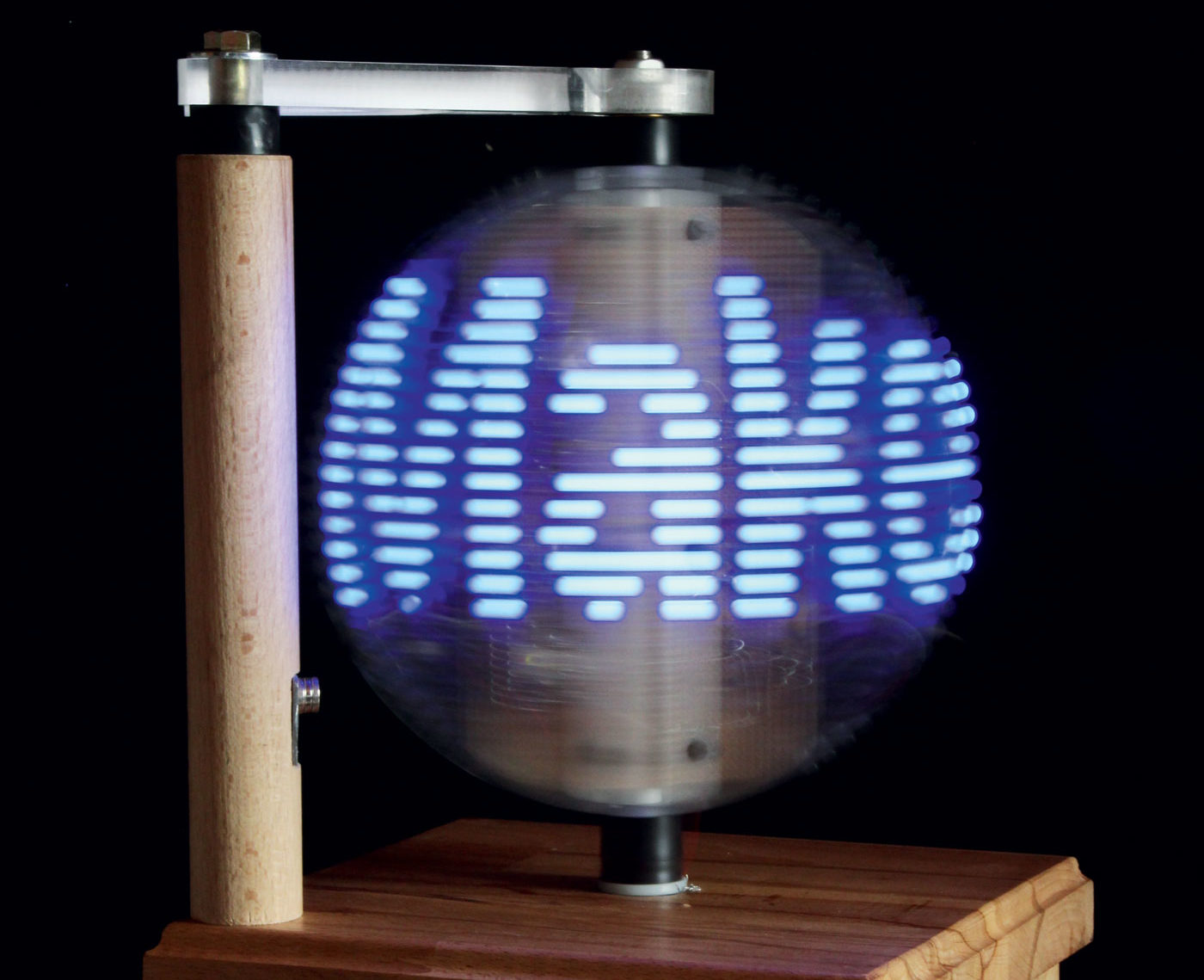 Build A Persistence Of Vision Led Globe Make Drilled Copper Prototype Pcb Matrix Board Printed Circuit Ebay