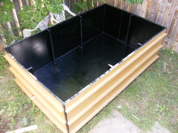 The basic design of the new 2016 Homemade Game Guru cardboard pool