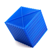 Cuboids with embedded textures to allow fixed assignment of sides and directions.