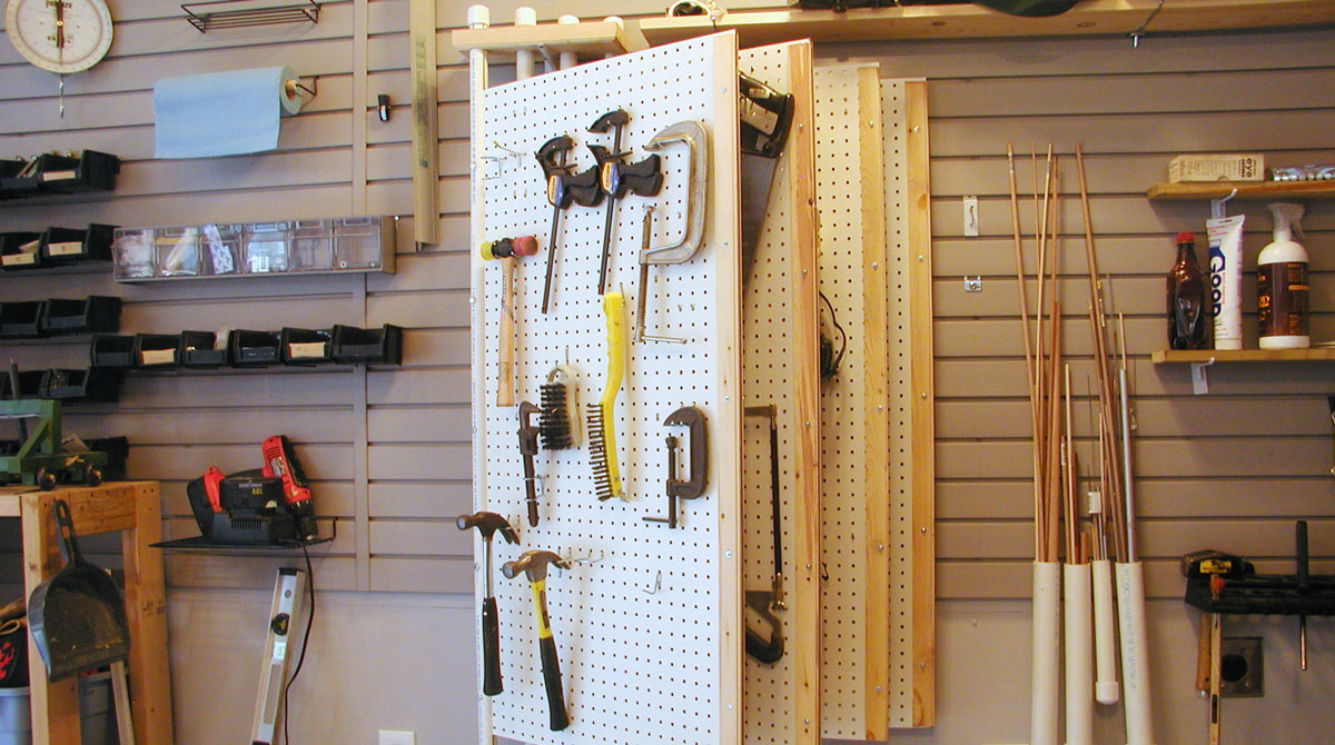 20 Brilliant Tool Storage Solutions | Make: