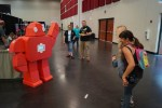 Selfie Robot Combines Oversized Papercrafting and Raspberry Pi Photo Booth