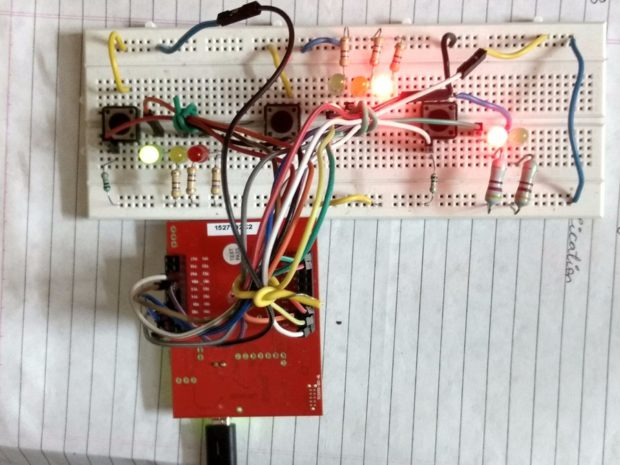 Pavan Tripathi's Traffic_Lights simulates traffic lights using the Tiva-C and several LEDs, perfect for beginners