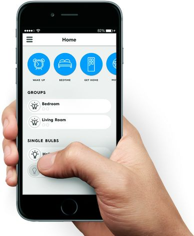 GE is developing an app to use in conjunction with C by GE, which users can program to interact with other smart devices throughout their home. Photo courtesy of GE.
