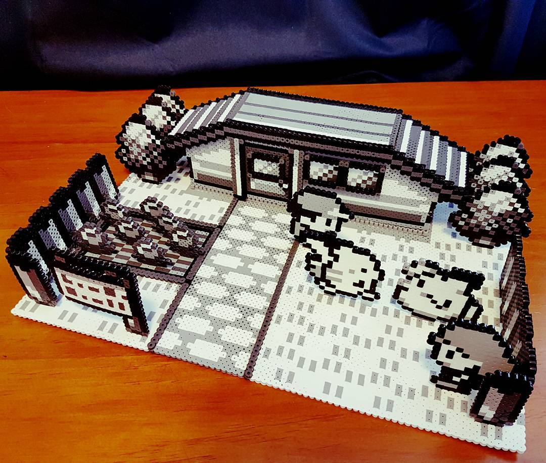 Perler Beads Go 3D with This Incredible Pokemon Diorama