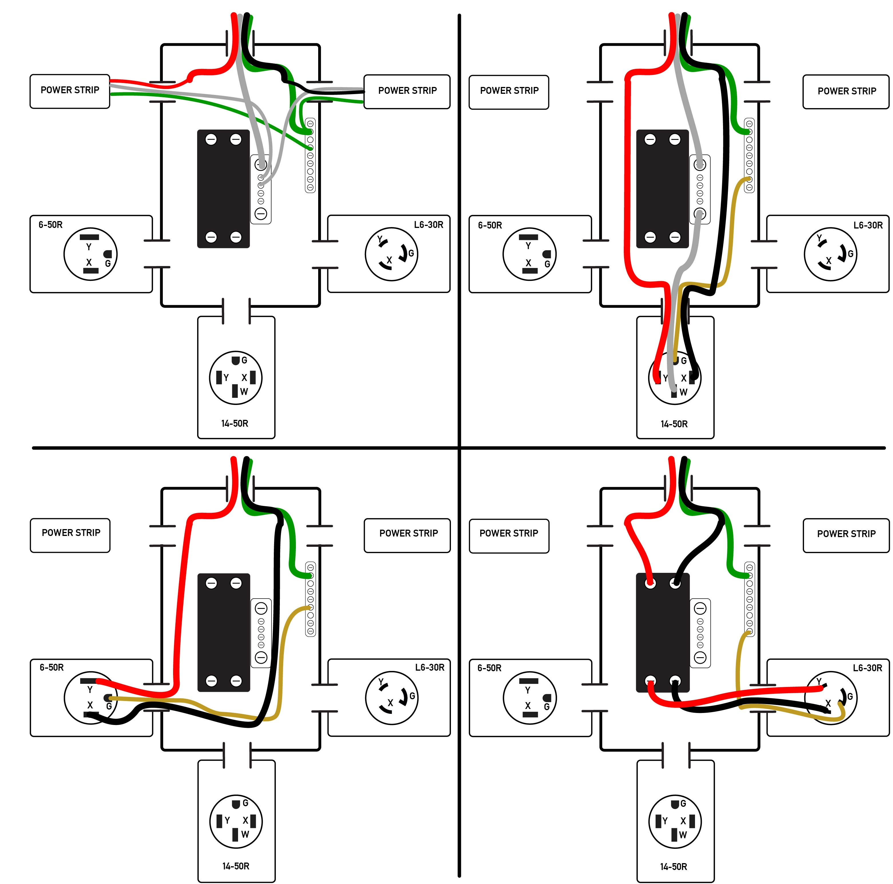electrical outlet wiring diagram attwood sahara s500 power strip 26 images