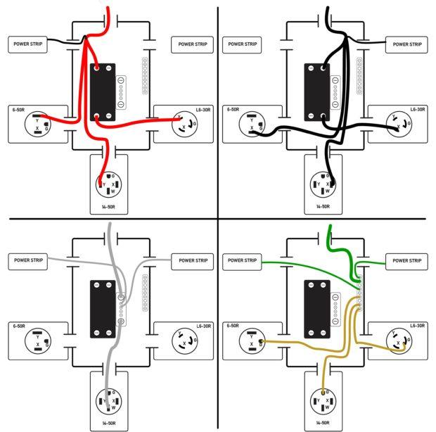 power strip wiring diagram online schematic diagram u2022 rh holyoak co