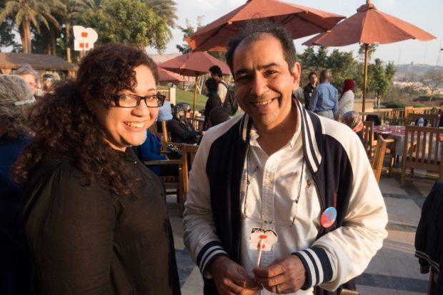 Dina El-Zanfaly and Hisham Khodeir helped open Fab Lab Egypt in 2012.
