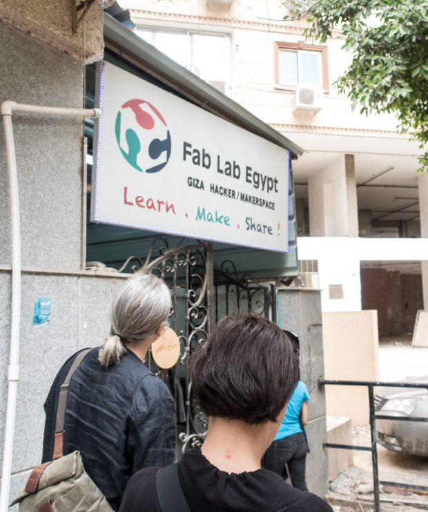 Fab Lab Egypt serves as a social club at the crossroads of art, science, technology, and business.
