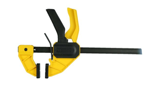 Figure 1. A trigger clamp is essential to stabilize your work.