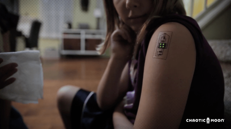 Light Up Your Body with Temporary Tattoo Circuits