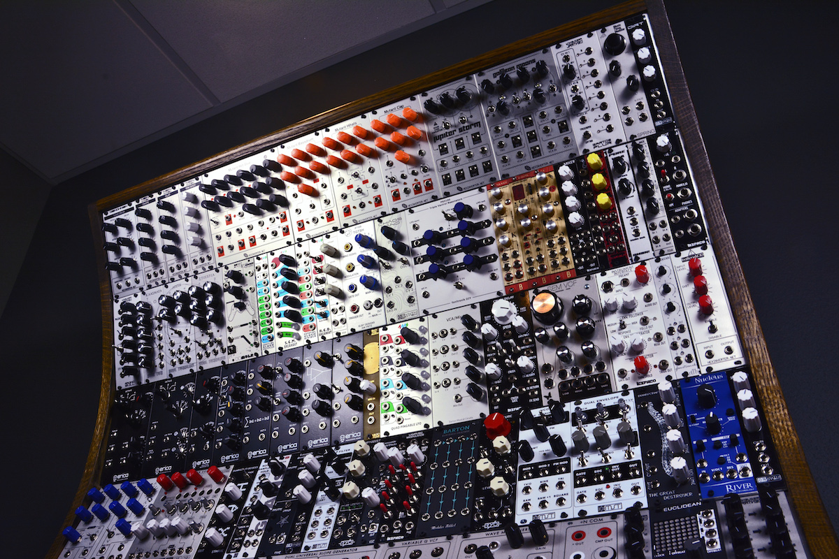 This Custom Synth Packs in the Sound with 200 Modules