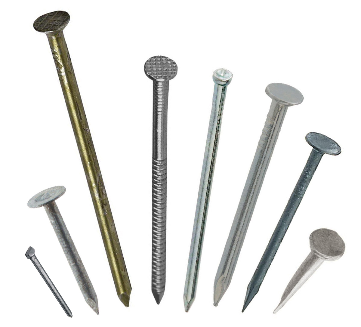 Some Types Of Nails See Text For Details