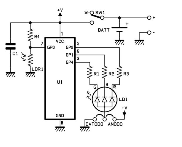 led christmas light string wiring diagram woody stem 10 merry circuits to illuminate your holiday make plastic pic 1
