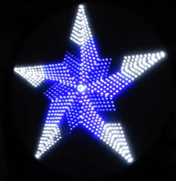 led christmas light string wiring diagram honeywell wifi thermostat rth6580wf 10 merry circuits to illuminate your holiday make over 1000 millimeter diameter leds went into the construction of this mesmerizing star exact number isn t specified