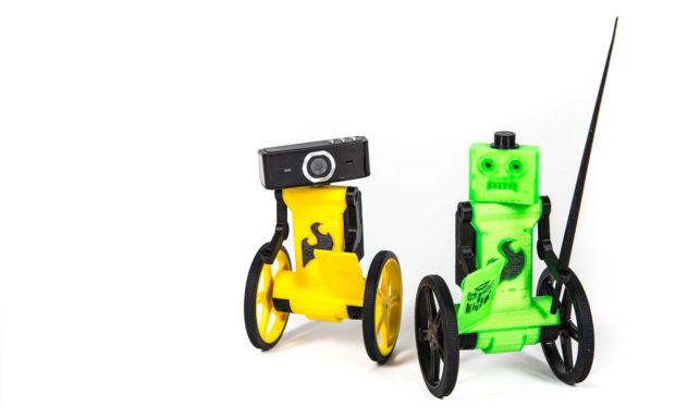 Build and Drive This Adorable FPV Balance Bot | Make:
