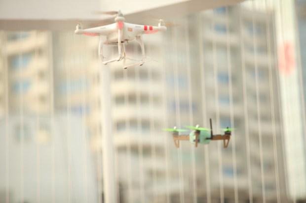 Combat drones at Maker Faire Shenzhen