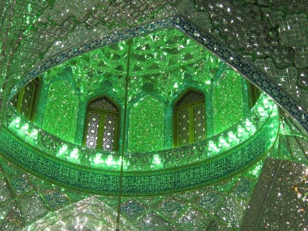 shah-cheragh-green
