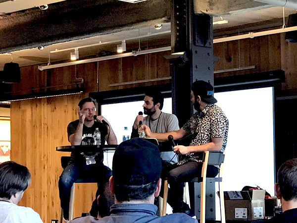 Brian McCauley, Sean Rubino, and Kyle Toth