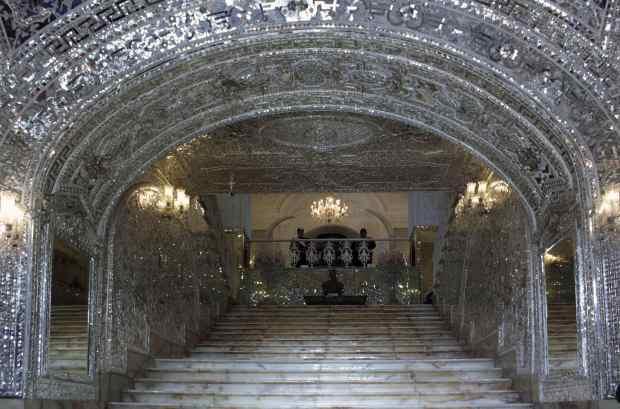 golestan-palace-stairway