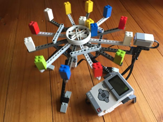 Compose Synthy Samples with a Lego Sound Sequencer