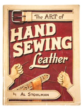 We've just covered a basic stitch. If you'd like to learn more, the master reference is Al Stohlman's The Art of Hand Sewing Leather. This excellent instruction book has taught tens of thousands of leatherworkers basic and advanced techniques.