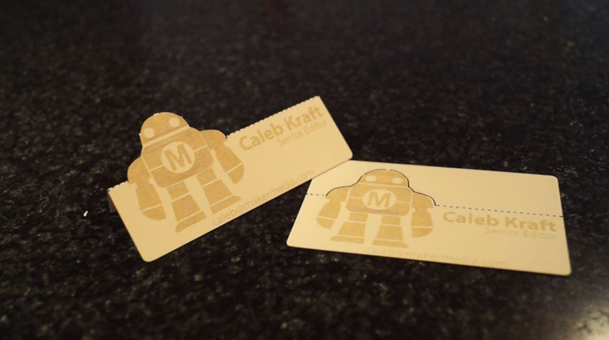 3 Tips for Laser Cutting a Unique Business Card