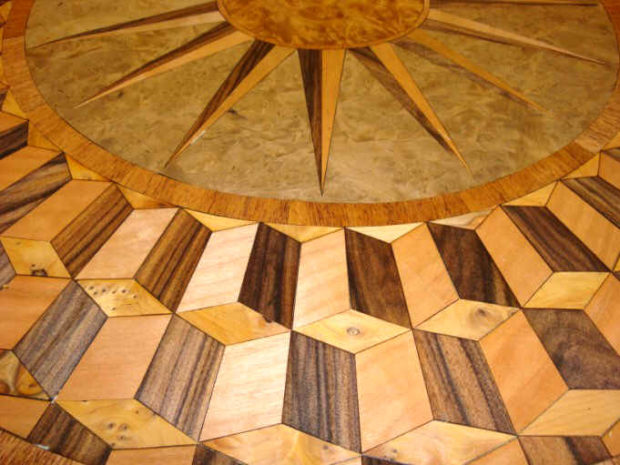 marquetry-closeup