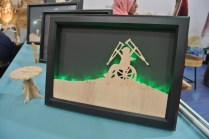 Backlit piece from the Scrollsaw Arts ladies.