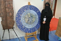 Thekrayat makes art with clay and reclaimed elements, based from her home.