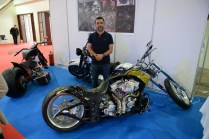Kuwaiti motorcycle builder Hussain Saleem attended University of Pennsylvania before returning home to work as an engineer. He led workshops in his garage until relocating to Oman for work recently.
