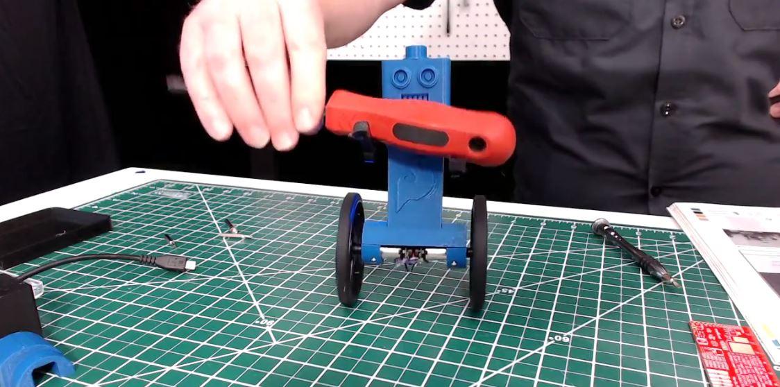 Watch Us Build Eddie, the Self Balancing Robot