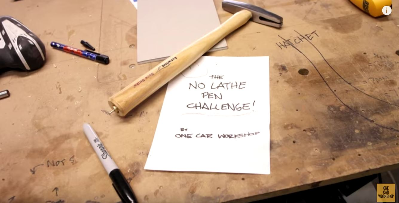 """The """"No Lathe"""" Pen Challenge Makes You Think Creatively"""