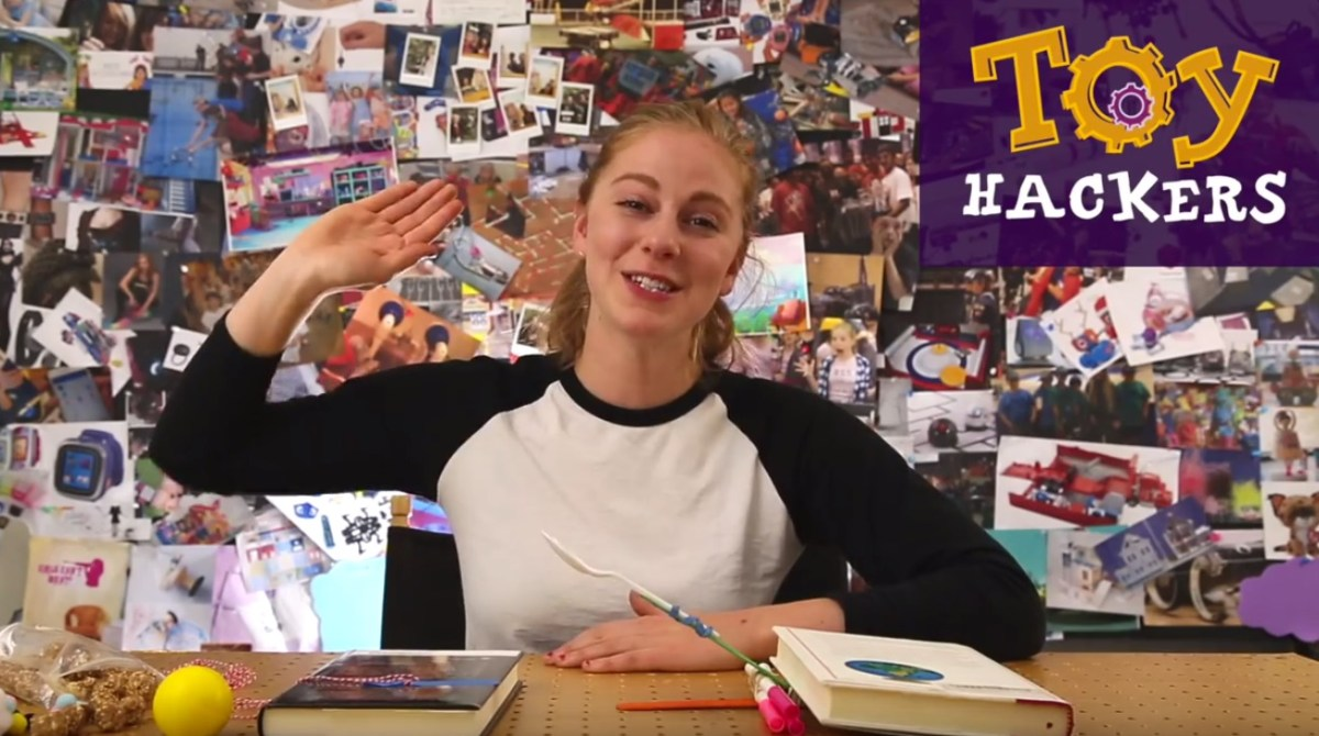 Toy Hacking with Simone Giertz