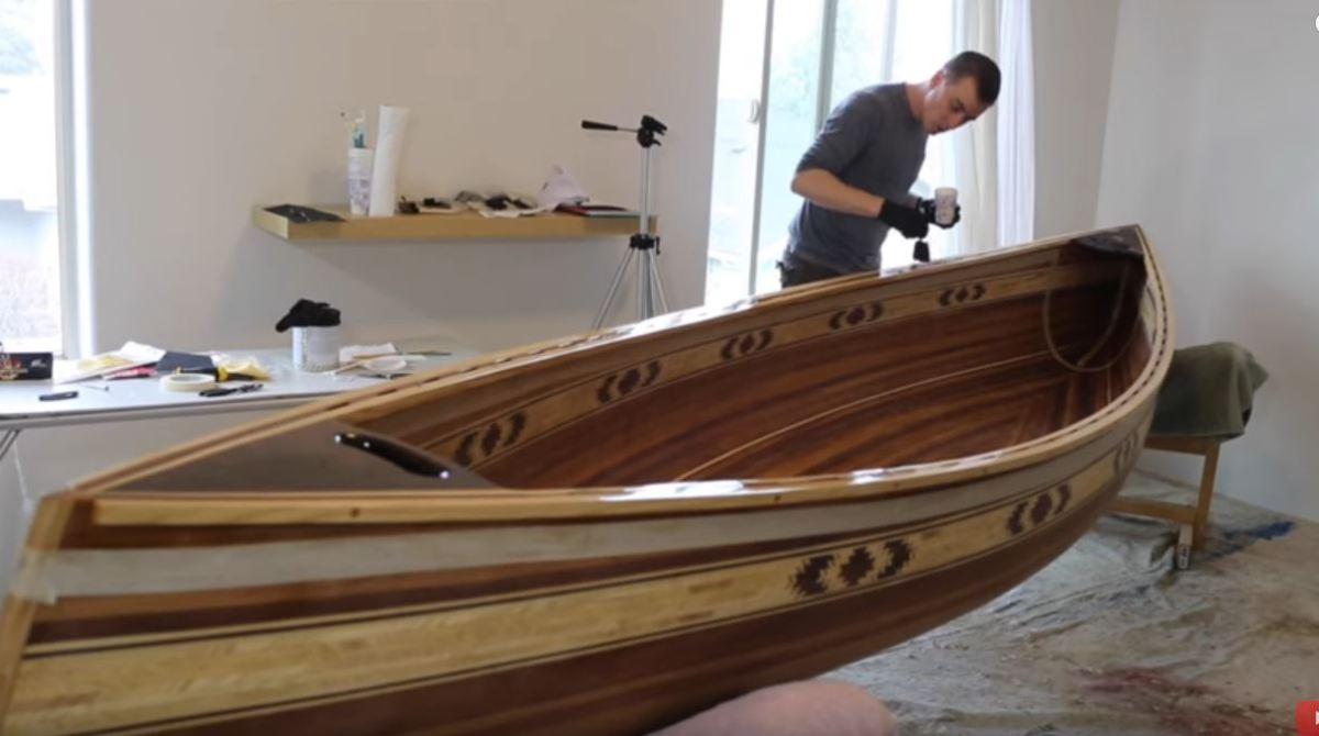 Weekend Watch: 8 Months To Build a Gorgeous Cedar Canoe