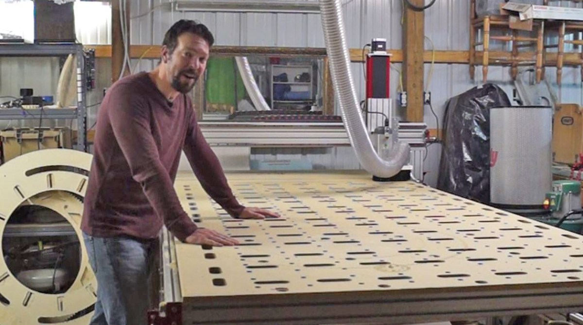 What I Learned From Building A Giant Cnc Router Kit Make