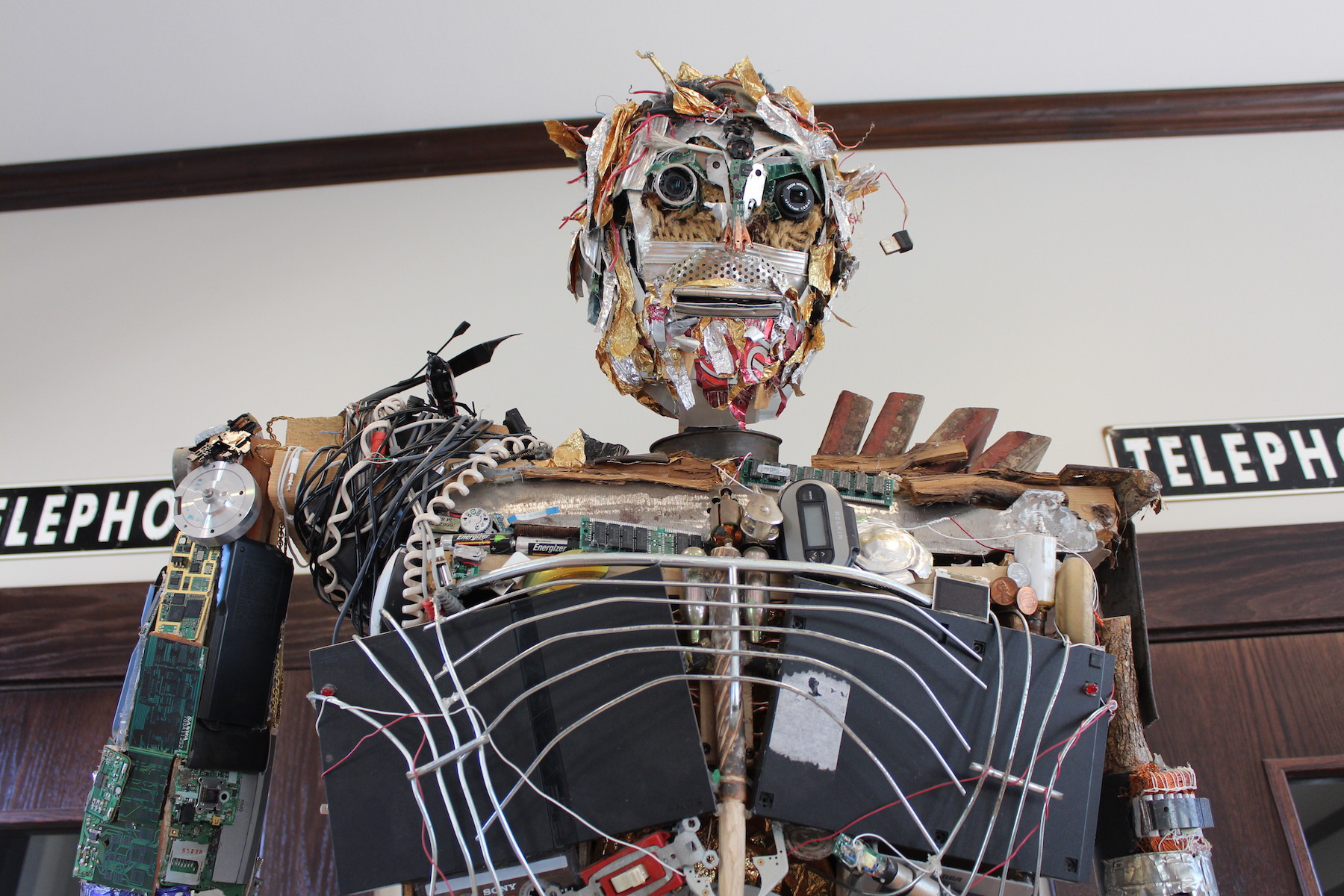 Phillip the Robot Is Seven Feet Tall and Made of Trash