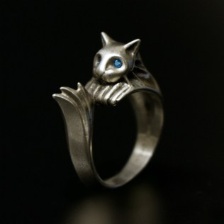 Silvercat Ring. Picture by Torch Torch