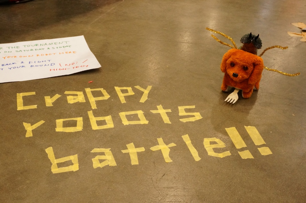Hebocon Is a Crappy Robot Competition That Celebrates Failure