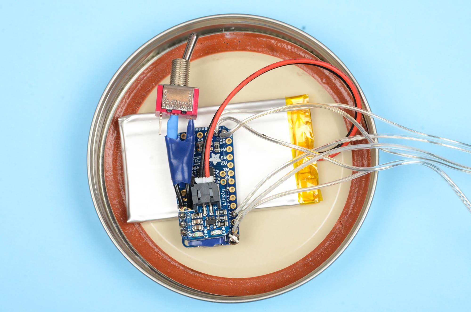 Solder Together a Fairy Lights Mason Jar