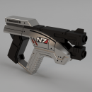 This 3D Printed Mass Effect Prop Folds Up Just Like in the Game