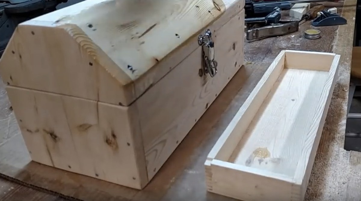 Making a Toolbox from a Single 2×4