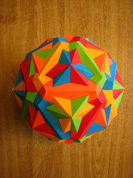 Compound of five dodecahedron
