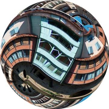 Bonnemaison transformed into a perfect sphere