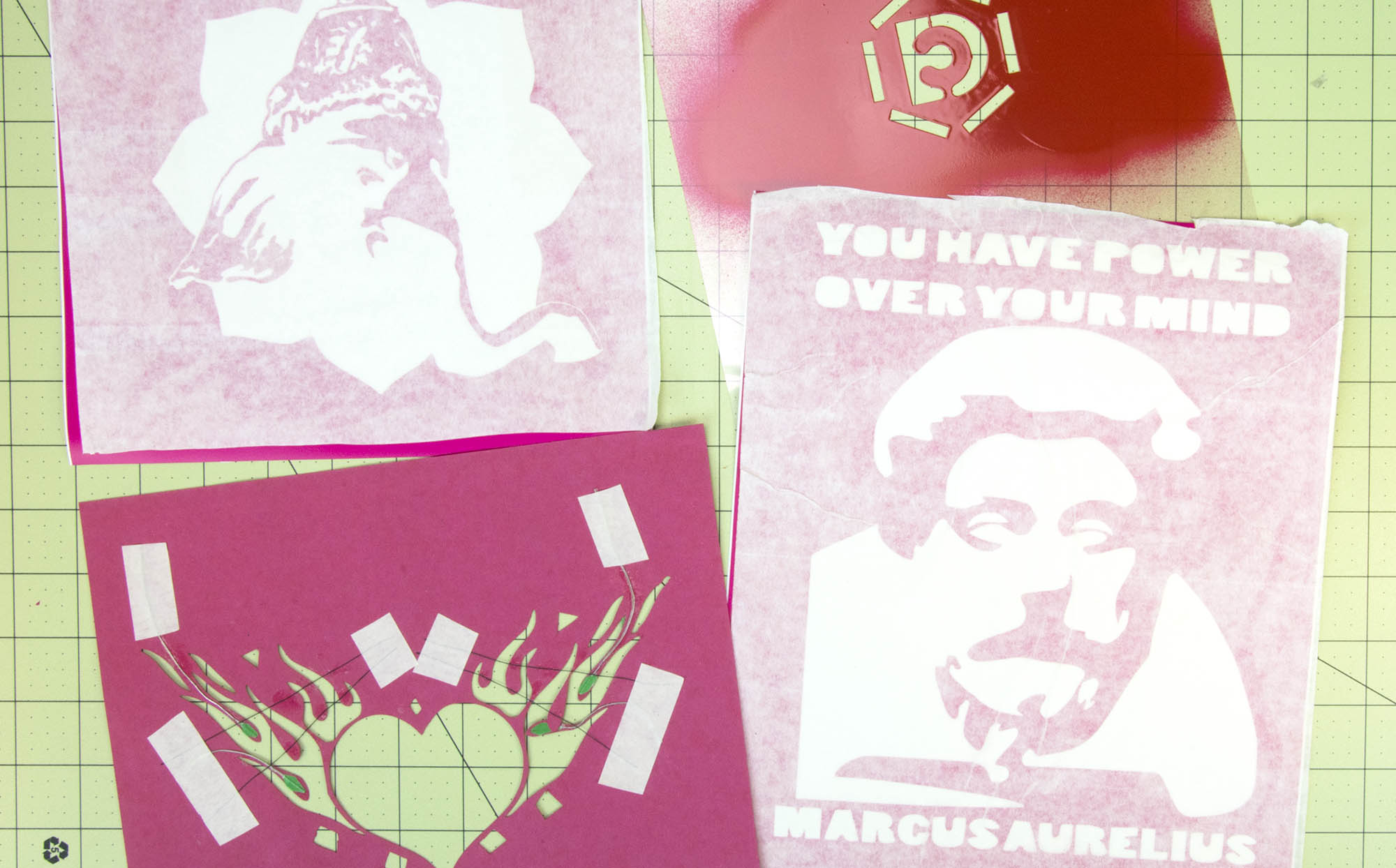 How to make a stencil yourself