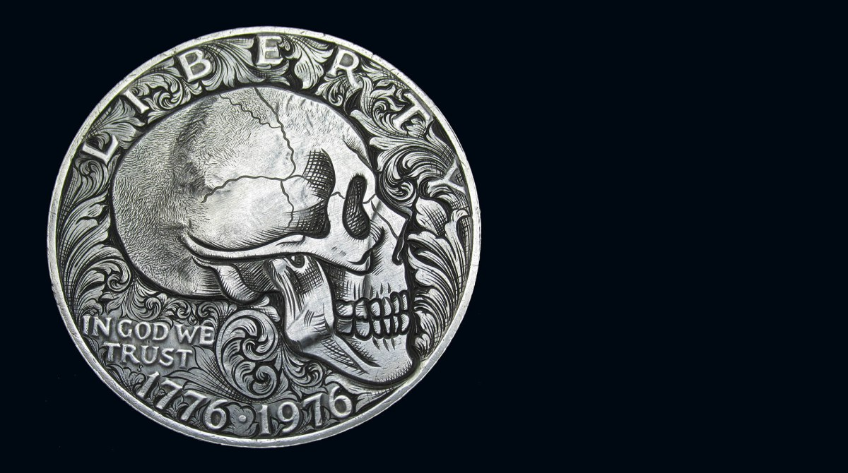 Coins Become a Canvas for This Intricate Carver