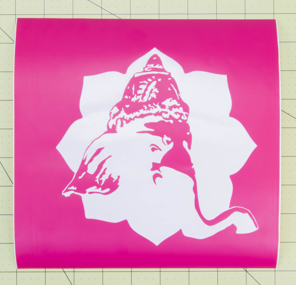 Use A Vinyl Cutter To Design Stencils For Spray Painting