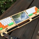 """This Custom Built """"Commute Deck"""" Makes it Easy to Work on the Go"""