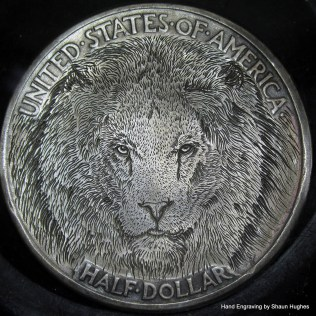 lion_hand_engraved_hobo_nickel_by_shaun_hughes_by_shaun750-da0f1eh