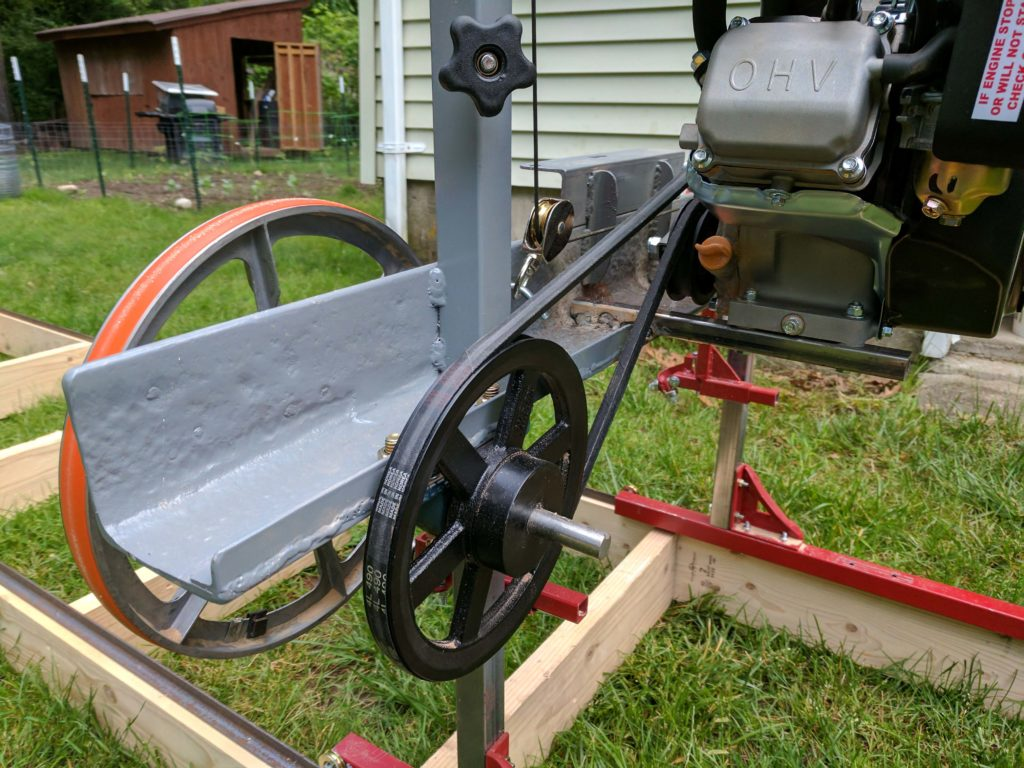 Used Sawmills For Sale >> How I Built A Sawmill In The Backyard Make
